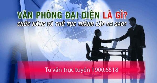 Điều kiện, thủ tục thành lập văn phòng đại diện công ty nước ngoài