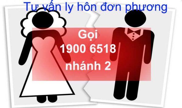 Hướng dẫn thủ tục ly hôn đơn phương