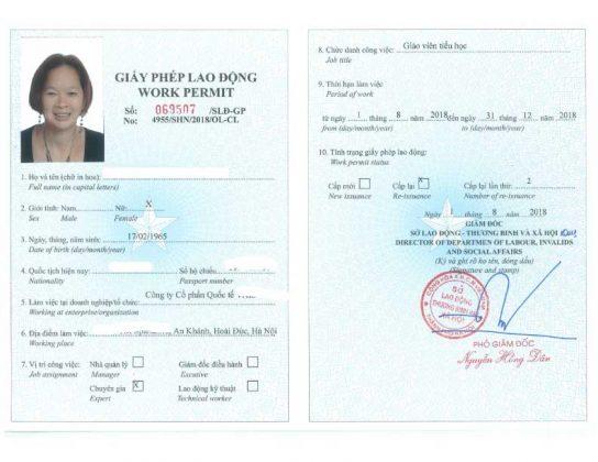 Bí quyết xin giấy phép lao động thành công 100%