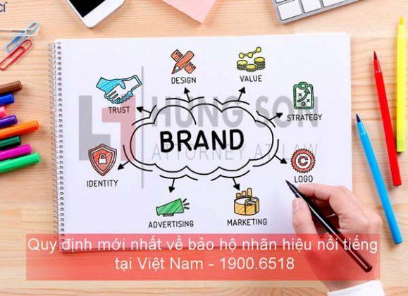 bảo hộ nhãn hiệu nổi tiếng tại việt nam