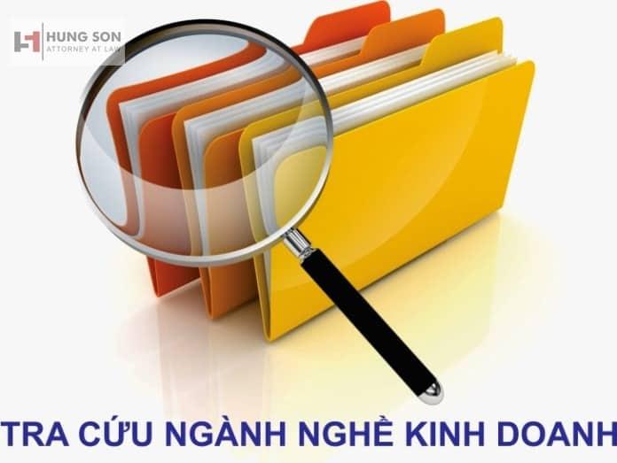 Tra cứu mã ngành kinh doanh mới nhất 2021 – Luật Hùng Sơn