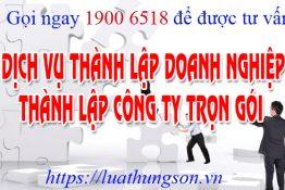 Dịch Vụ thành lập Công ty tại Phú Thọ