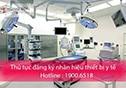 Thủ tục đăng ký nhãn hiệu thiết bị y tế