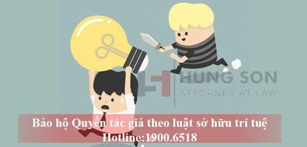 thủ tục đăng ký bảo hộ quyền tác giả