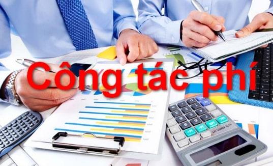 Chi phí công tác phí hợp lý trong doanh nghiệp