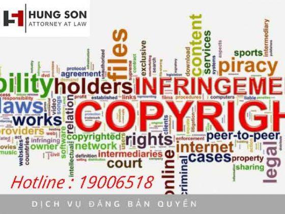Đăng ký bản quyền hình ảnh thep pháp luật Việt Nam