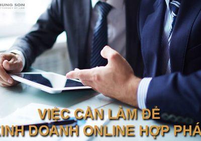 Tư vấn đăng ký kinh doanh online hợp pháp