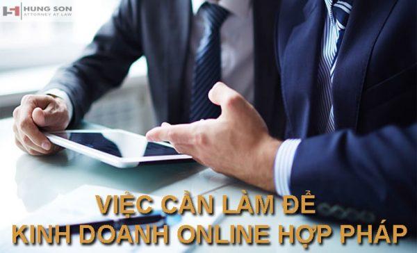 đăng ký kinh doanh online hợp pháp