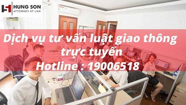 Dịch vụ tư vấn giao thông trực tuyến