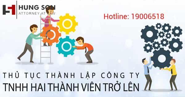 Quy trình làm thủ tục thành lập công ty TNHH 2 thành viên