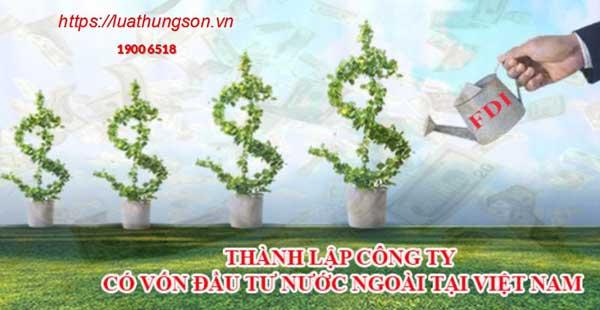 Dịch vụ chuyên thành lập Công ty vốn đầu tư nước ngoài