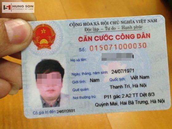 Thủ tục làm thẻ căn cước công dân nhanh chóng tại Hà Nội