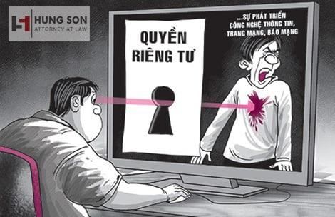 Hậu quả pháp lý khi xâm phạm quyền riêng tư của người khác