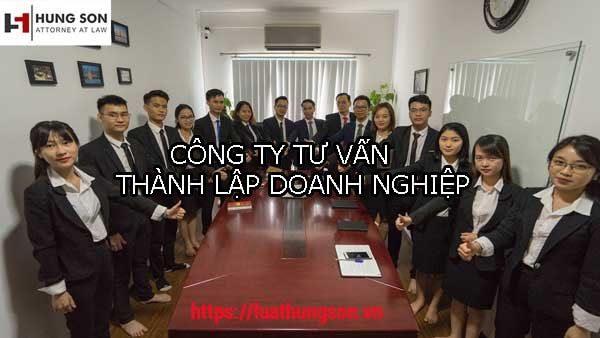 công ty tư vấn thành lập doanh nghiệp