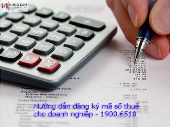 Hướng dẫn đăng ký mã số thuế chi tiết cho doanh nghiệp mới