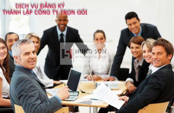 dịch vụ đăng ký thành lập công ty trọn gói