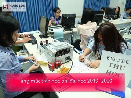 Đề xuất tăng mức trần học phí đại học trong năm 2019 – 2020