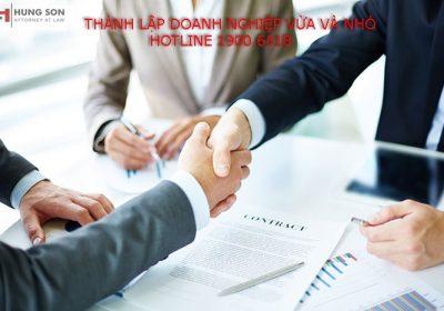 Tìm hiểu điều kiện và thủ tục thành lập doanh nghiệp vừa và nhỏ