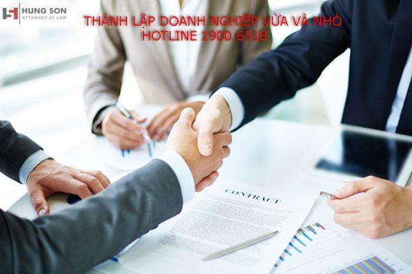 thành lập doanh nghiệp vừa và nhỏ