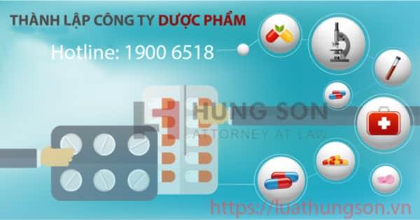 Thủ tục thành lập công ty kinh doanh dược phẩm