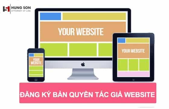 đăng ký bản quyền tác giả website