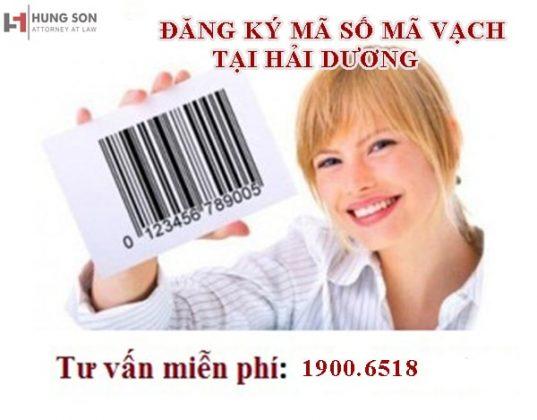 Dịch vụ tư vấn đăng ký mã số mã vạch tại Hải Dương uy tín, giá rẻ