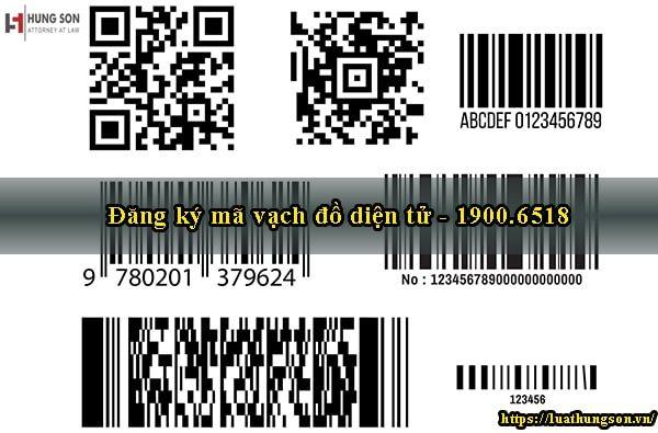 đăng ký mã vạch đồ điện tử