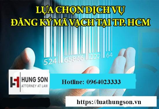 đăng ký mã vạch tại TPHCM