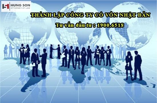 Tư vấn quy trình, thủ tục thành lập công ty có vốn Nhật Bản tại Việt Nam