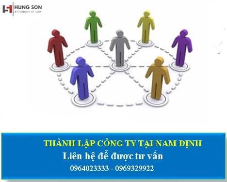 Khám phá dịch vụ thành lập công ty tại Nam Định của Luật Hùng Sơn