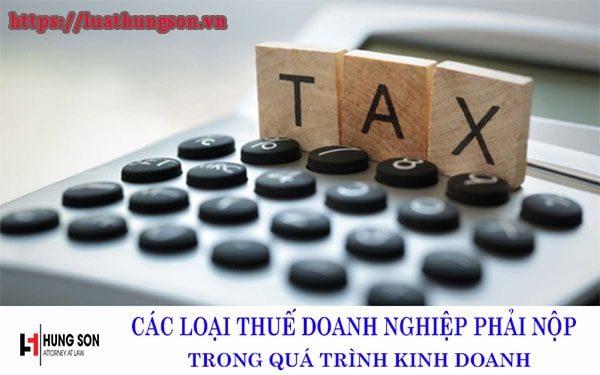 5 loại thuế suất doanh nghiệp cần biết