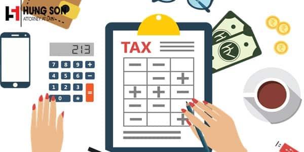 Các nguyên tắc khai thuế, tính thuế theo quy định mới nhất