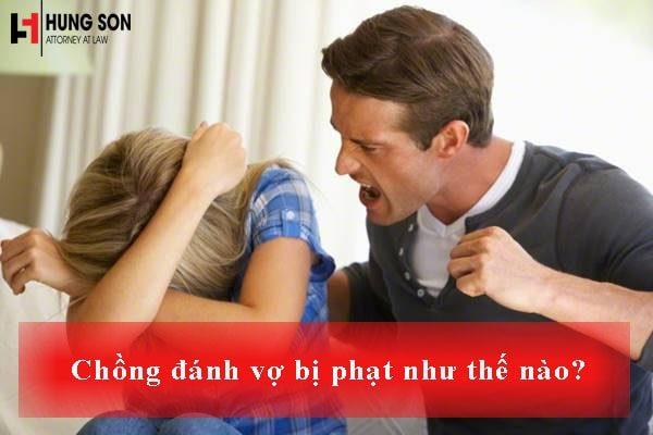 Infographic : Chồng đánh vợ bị phạt như thế nào ?