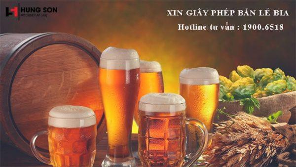 Tư vấn các thủ tục xin giấy phép bán lẻ bia theo quy định năm 2019