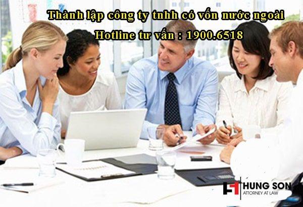 Quy trình thành lập công ty tnhh có vốn nước ngoài tại Việt Nam