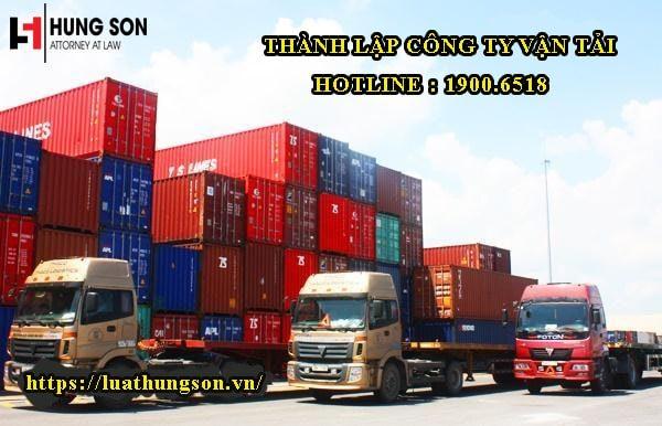 Thủ tục thành lập doanh nghiệp vận tải gồm những gì?