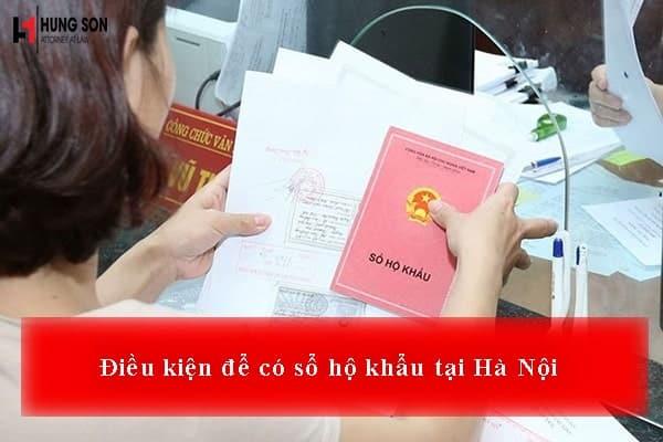Thủ tục và điều kiện để có sổ hộ khẩu tại Hà Nội 2019