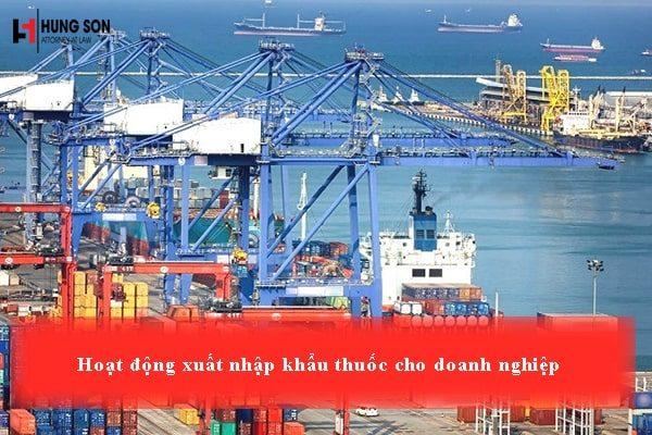 Điều kiện để được hoạt động xuất nhập khẩu thuốc đối với các doanh nghiệp