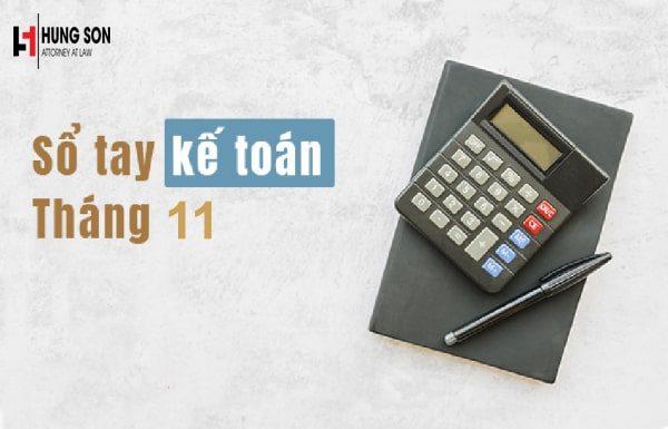Những việc kế toán cần làm trong tháng 11/2019