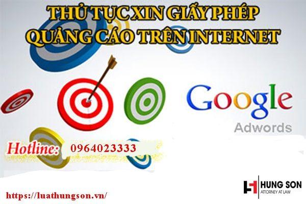 Quy trình xin giấy phép quảng cáo trên Internet