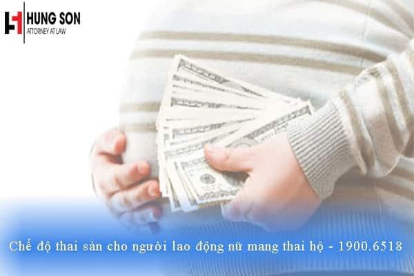 Chế độ thai sản cho người lao động nữ mang thai hộ