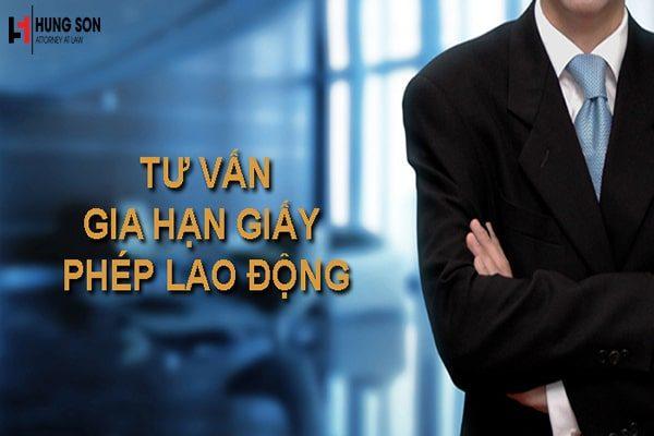Thủ tục gia hạn giấy phép lao động cho người nước ngoài
