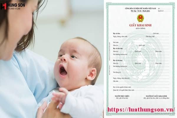Chưa đăng ký kết hôn có được khai sinh cho con không?