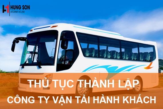 Thành lập công ty vận tải hành khách như thế nào?