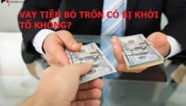 Hành vi mượn nợ rồi bỏ trốn sẽ bị pháp luật xử lý như thế nào?
