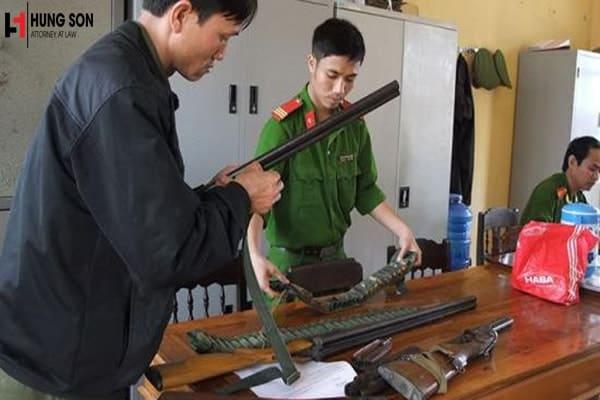 Hành vi sử dụng súng hơi có bị xử phạt theo quy định của pháp luật?