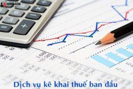 Hồ sơ và thủ tục kê khai thuế ban đầu cho doanh nghiệp mới thành lập