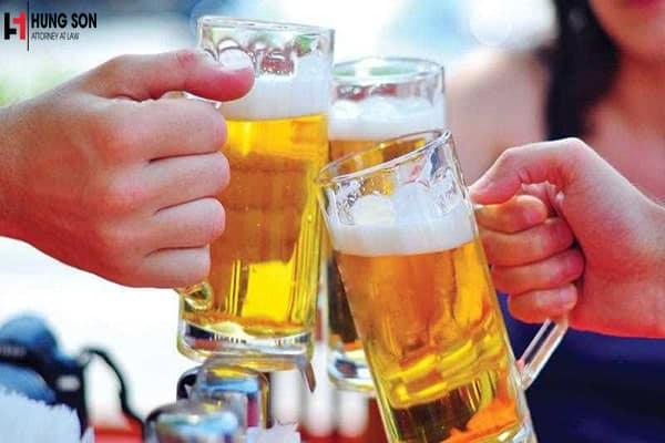 Địa điểm không được uống rượu bia theo quy định mới nhất 2020
