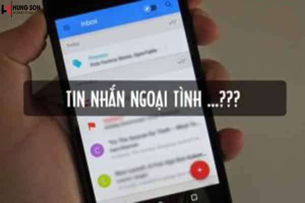 Tin nhắn có được xem là bằng chứng ngoại tình hay không?