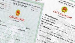 Hướng dẫn thủ tục đăng ký khai sinh năm 2020